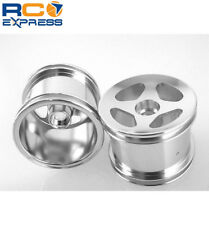 GPM Racing Losi Mini-T Aluminum Silver Front Aluminum Compass Wheels SMT0403F/L