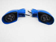 FORMELK M-Look Sportspiegel blau elektrisch verstellbar (057-B)