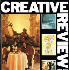 CREATIVE REVIEW Magazine November 1989 DAVE McKEAN Wally Olins MARK BAKER @EX@