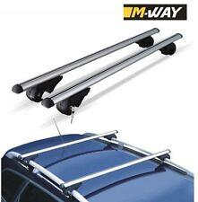 M-Way Roof Cross Bars Locking Rack Aluminium for Audi A6 Avant 1994-2009