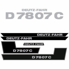 Deutz Fahr D 78 07 C tractor decal aufkleber adesivo sticker set