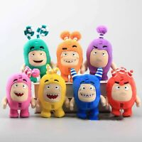 1PC Oddbods 18cm Plush Soft Cuddly Toy Newt Bubbles Pogo Zee Jeff Fuse Slick