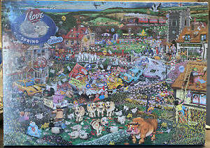 I Love Spring Mike Jupp Jigsaw 1000 Pieces Gibsons Puzzle