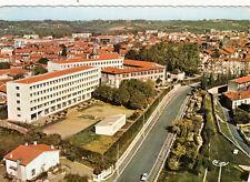 SAINT-GAUDENS vue aérienne lycée de jeunes filles timbrée 1968