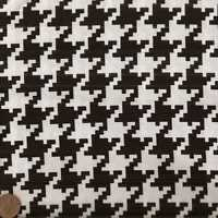 Black and white houndstooth Michael Miller fabric