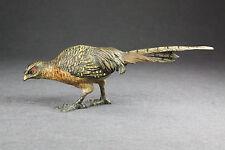 Wiener Bronze um 1920 Fasanhenne Vienna bronze round about 1920 pheasant hen