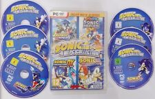 SONIC COLLECTION PC DX ADVENTURE 1 2 3 RIDERS UN TOTAL DE 15 JUEGOS MUY RARO