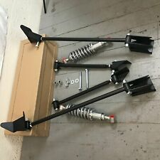 Triangulated Rear 4 link & Coilovers 1935 Ford Model 48 Sedan  Standard Deluxe 8