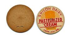 "Vintage Milk Bottle Cap 1 5/8"" unused SHILOH DAIRY YORK, R.D.1  PA FREE S/H"