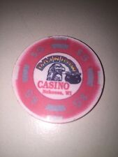 RAINBOW CASINO NEKOOSA WI Casino CHIP $5.00 Eagle Pot Of Gold Obsolete 5 Dollars
