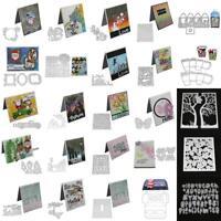 31 Styles Metal Cutting Dies Stencil DIY Scrapbooking Embossing Paper Card Craft