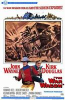 The War Wagon Movie POSTER 11 x 17 John Wayne, Kirk Douglas, A