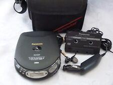 Panasonic MASH Portable CD Player Discman SL-S250C Car Ready Accessories GUC