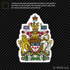 Canada Coat of Arms Sticker Die Cut Decal Canadian Royal