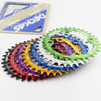 DECKAS Bike Aluminium Round Oval Chainring Chain Ring BCD 104mm 32T 34T 36T 38T