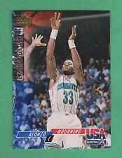1993-94 Upper Deck SE Exchange Alonzo Mourning Charlotte Hornets #USA16 (KCR)