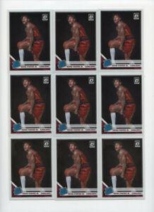 Lot of (10) Kevin Porter Jr Rookie Cards Donruss Optic Prizm ABC10283