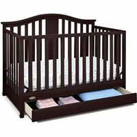 Graco Stanton 4 In 1 Convertible Fixed Side Classic Crib