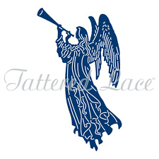 """Essentials by Tattered Lace ~ Heavenly Angel,  2.48"""" x 4.21""""  TTLETL561"""