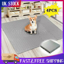 4PCS Extra Large Thick Eva Foam Mat Soft Floor Tiles Interlocking Play Kid 60*60