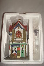 "Department 56 ""CORNER GROCER"" Christmas in the City Series  Light & Box"
