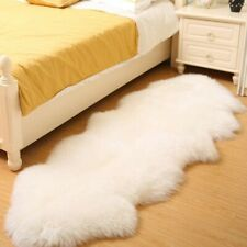 bedee Faux Sheepskin Rugs Soft Fluffy Shaggy Area Rugs 80 x 180