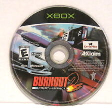 Xbox Burnout 2: Point of Impact (Microsoft, Xbox, 2003) Disc Only READ