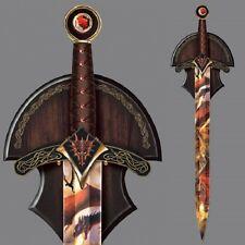 Dragons Doom Replica Wall Decor Resin Sword Dragon Art    Bradford Exchange