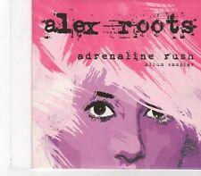 (FX186) Alex Roots, Adrenline Rush Sampler - 2009 DJ CD