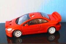 PEUGEOT 307 WRC VERSION PLAIN BODY RED AUTOART 60557 1/43 NEW NIGHT VERSION ROT