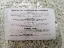 22.5Kg ZEOLITE Aquarium & Pond Filter Media - Ammonia Remover 9x 2.5kg bags.