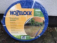HOZELOCK TRICOFLAT 15M DRAINAGE PIPE / Drainage Pipe *** CHEAPEST ON EBAY ***