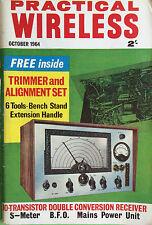 Practical Wireless - October 1964 - Mains Power Unit, Vintage Magazine