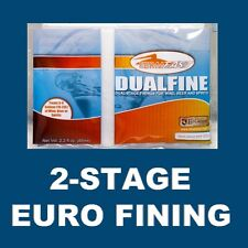 DUALFINE 2-STAGE FINING CHITOSAN+KIESELSOL FORMERLY LIQUOR QUIK SUPER KLEER K.C.