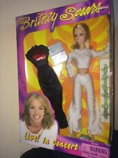 2000 Play Along ~ Britney Spears Live in Concert Doll ~NIB