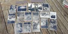 Lot photos soldats allemand / Château Bois Francs Verneuil sur Avre Normandie