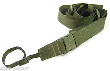 ORIGINAL POLISH BERYL 2 POINT TACTICAL SLING - BELT STRAP RIFLE GUN GREEN OLIV