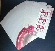 100 x Sri Lanka 2012 KB 1885-86 ** MNH Blumen Flower Peony Michel 1.000 EURO
