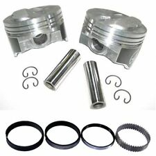 Speed Pro H618CP Chevy 350 .125 Dome Hyper Pistons & Moly Rings Kit STD Bore SBC