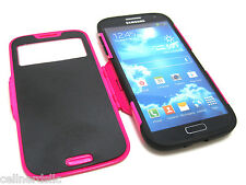 Cell-Nerds FLIPCASE  S-View Dual Protection case for the Samsung Galaxy S4 PINK