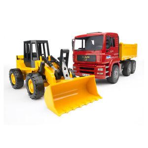 Bruder 1:16 73cm Man TGA Construction Truck w/Articulated Front Loader Toys 3y+