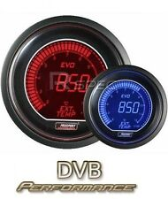 Prosport 52mm EVO Car Exhaust Gas Temperature EGT LCD Digital Display Red Blue