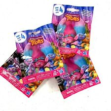 Lot of Four(4) Dreamworks TROLLS Series 4 Blind Bags NEW-RANDOM