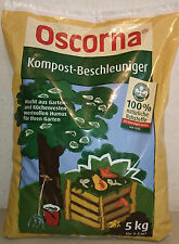 (EUR 2,97/kg) Oscorna Kompost-Beschleuniger 5 Kg