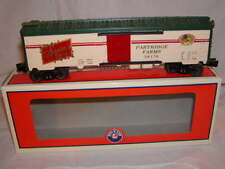 Lionel 6-36170 Partridge in a Pear Tree Reefer Train Car O 027 MIB Christmas New