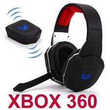 Wireless Gaming Stereo Headset for XBox 360 Game Sound Chat NEW Fast Shipping GD