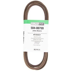 """SureFit 87-1/2"""" Drive Belt for John Deere M146667 LX255 LX266 LX277 LX279 LX288"""