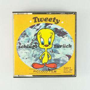 Tweety schlägt zurück - Super 8 Film - 8mm - Piccolo - s/w - 17m