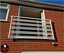 Juliet balcony,metal balustrade,wrought iron railings, design 8 of 23 Jullimett