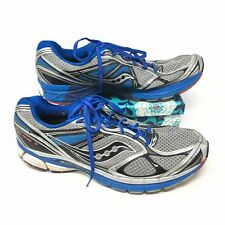 Men's Saucony Guide 7 Size 15 Sneakers Shoes Running Fitness Blue Black Gray J8